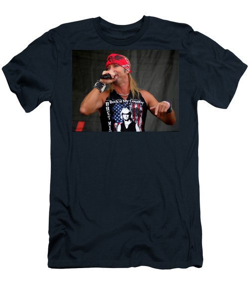 Bret Michaels In Philly Men's T-Shirt (Athletic Fit)