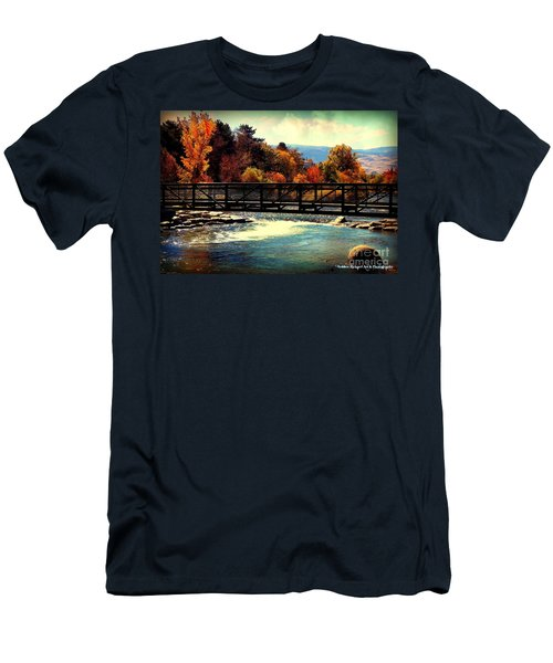 Bridge Over The Truckee River Men's T-Shirt (Athletic Fit)