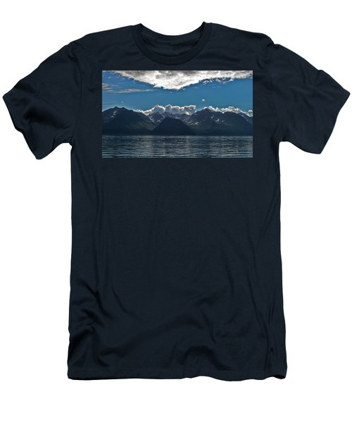 Men's T-Shirt (Slim Fit) featuring the photograph Bright And Cloudy by Aimee L Maher Photography and Art Visit ALMGallerydotcom