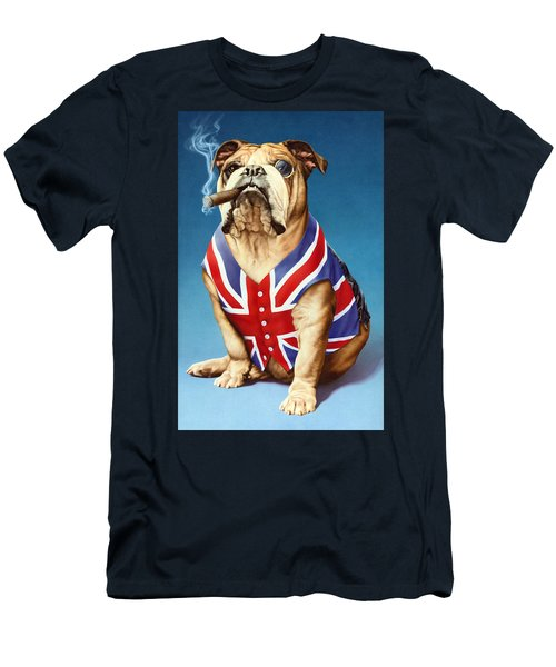 British Bulldog Men's T-Shirt (Athletic Fit)