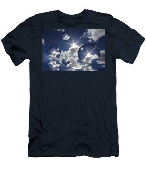 Bubbles In The Sun Men's T-Shirt (Athletic Fit)