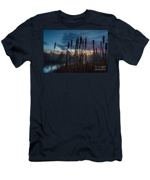 Bulrush Sunrise Men's T-Shirt (Athletic Fit)