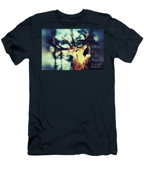 Burling Deer Men's T-Shirt (Athletic Fit)