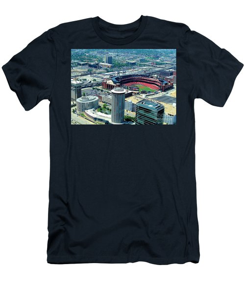 Busch Stadium From The Top Of The Arch Men's T-Shirt (Athletic Fit)
