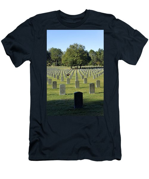 Bushnell National Cemetary Men's T-Shirt (Athletic Fit)