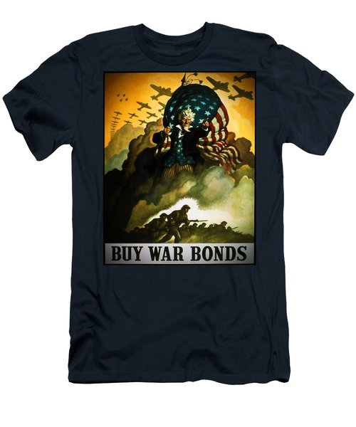 Buy War Bonds Men's T-Shirt (Athletic Fit)
