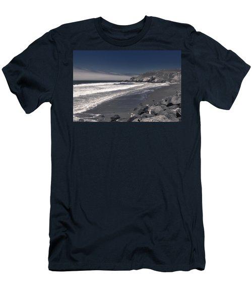 California Coastline Men's T-Shirt (Athletic Fit)