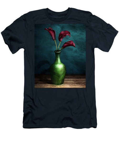 Calla Lilies I Men's T-Shirt (Athletic Fit)