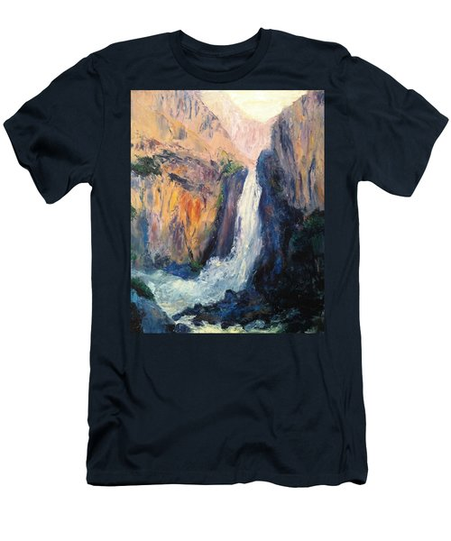 Canyon Blues Men's T-Shirt (Athletic Fit)