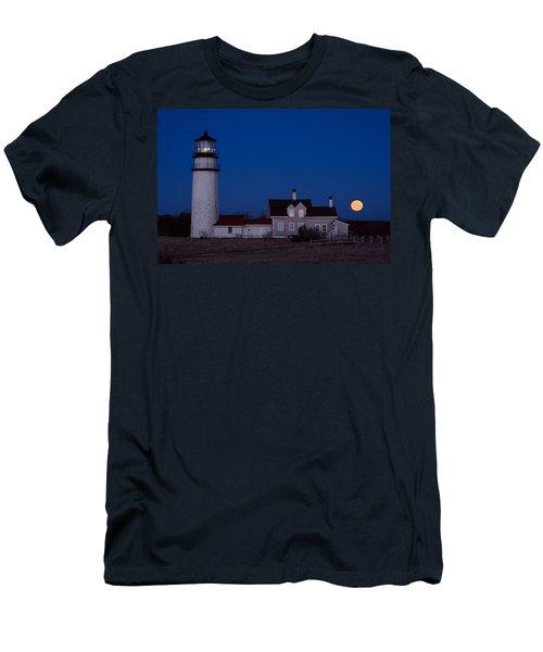 Cape Cod Moonset Men's T-Shirt (Athletic Fit)