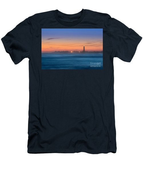 Cape May Lighthouse Sunset Men's T-Shirt (Athletic Fit)