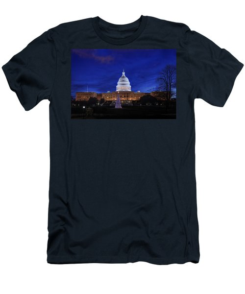 Capitol Christmas - 2013 Men's T-Shirt (Athletic Fit)