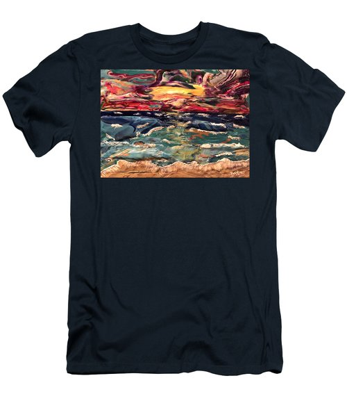 Capricious Sea Men's T-Shirt (Athletic Fit)