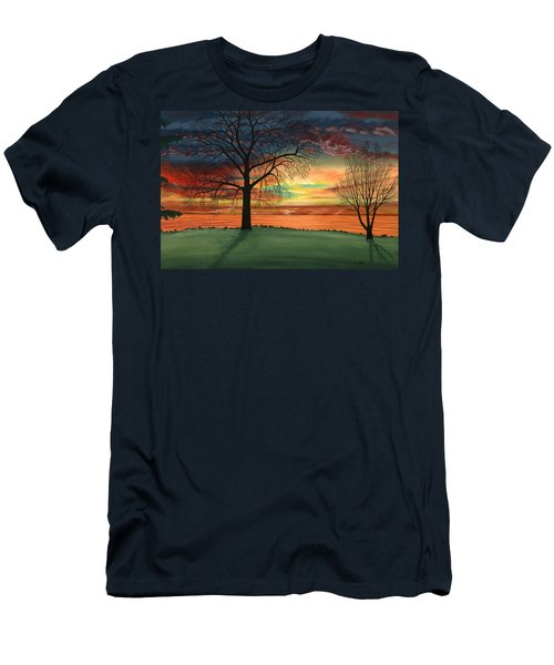 Carla's Sunrise Men's T-Shirt (Athletic Fit)