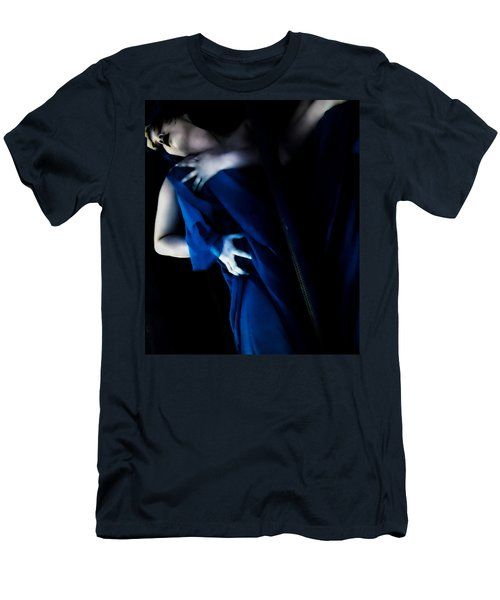 Carnal Blue Men's T-Shirt (Slim Fit)