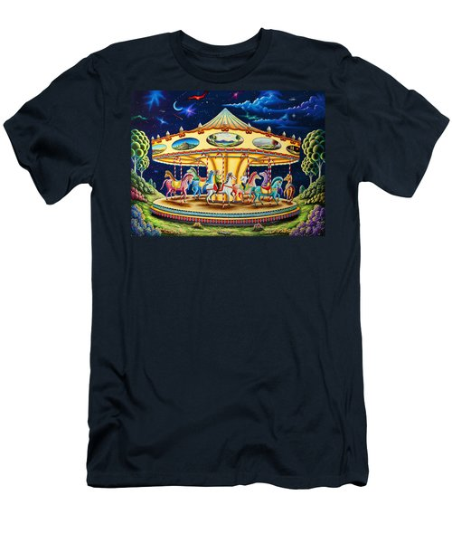 Carousel Dreams 3 Men's T-Shirt (Athletic Fit)