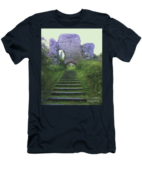 Men's T-Shirt (Slim Fit) featuring the photograph Castle Gate by John Williams