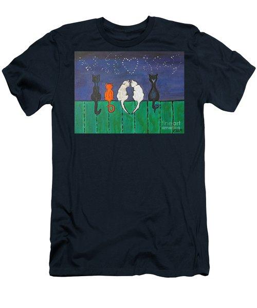 Cat Tails Men's T-Shirt (Athletic Fit)
