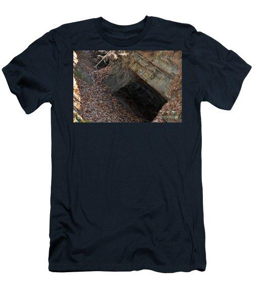 Cave Entrance Men's T-Shirt (Athletic Fit)
