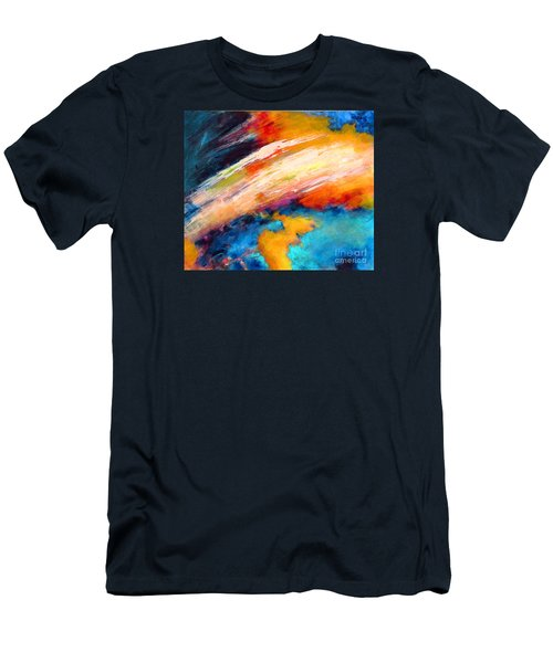 Fantasies In Space Series Painting. Celestial Vibrations. Men's T-Shirt (Athletic Fit)