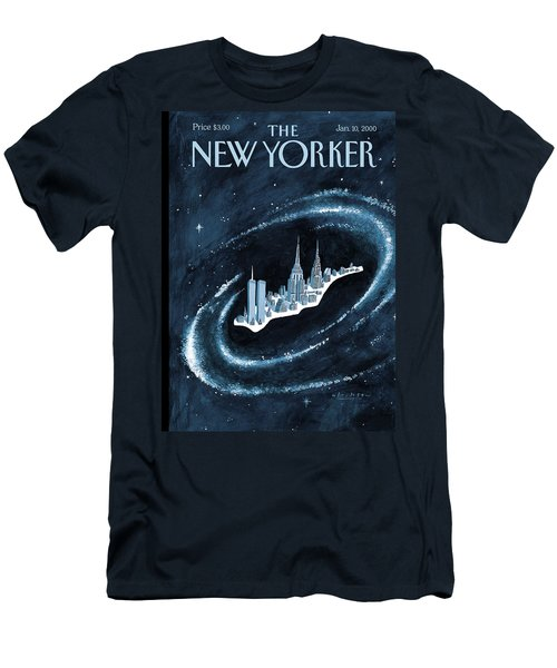 Center Of The Universe Men's T-Shirt (Athletic Fit)