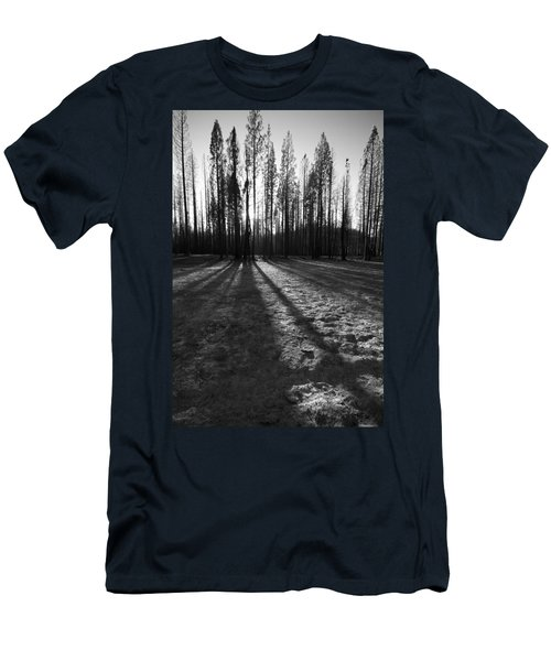 Charred Silence - Yosemite Rm Fire 2013 Men's T-Shirt (Athletic Fit)