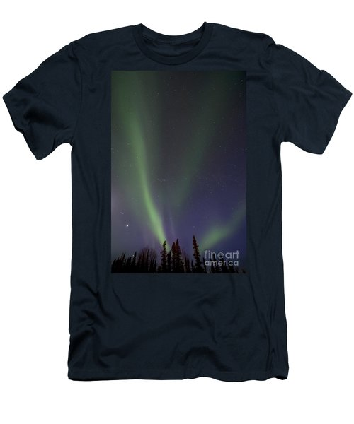 Chasing Lights Men's T-Shirt (Athletic Fit)