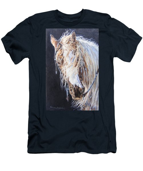 Cherokee Rose Gypsy Horse Men's T-Shirt (Athletic Fit)