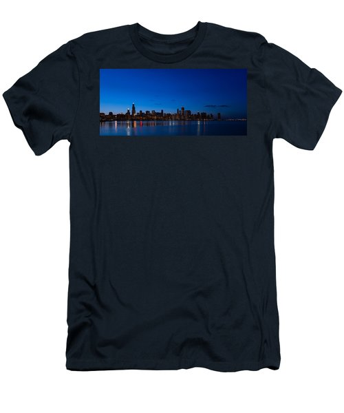 Chicago Night Men's T-Shirt (Athletic Fit)