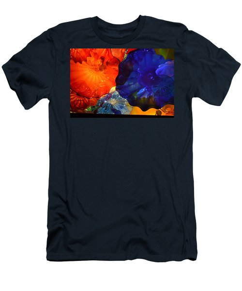 Chihuly-7 Men's T-Shirt (Slim Fit) by Dean Ferreira