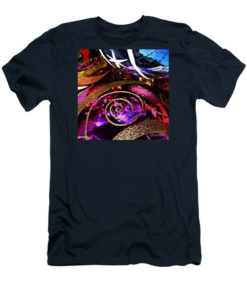 Christmas Abstract 20 Men's T-Shirt (Athletic Fit)