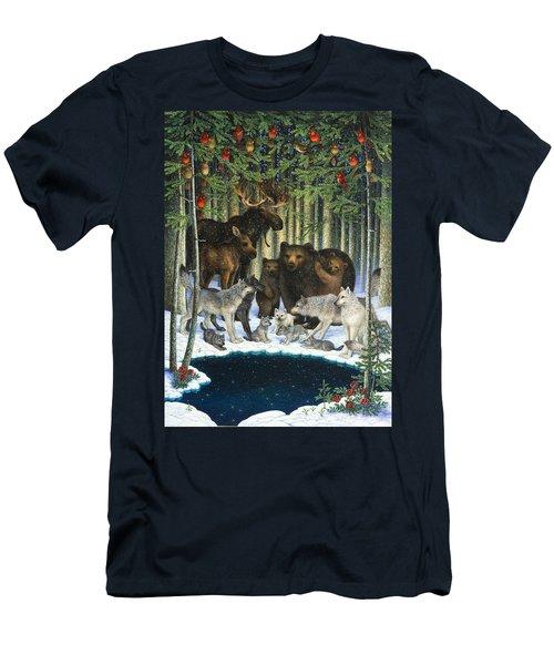 Christmas Gathering Men's T-Shirt (Athletic Fit)