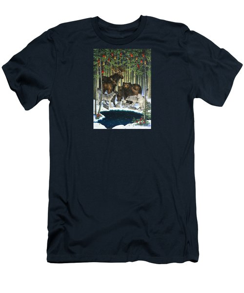 Christmas Gathering Men's T-Shirt (Athletic Fit)