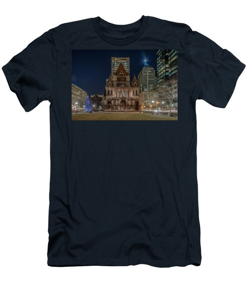 Christmas In Copley  Men's T-Shirt (Athletic Fit)