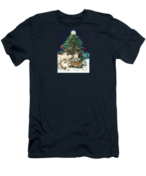 Christmas Parade Men's T-Shirt (Athletic Fit)