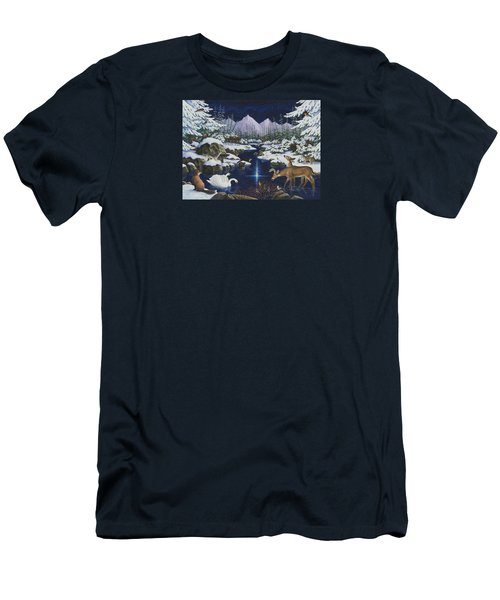 Christmas Wonder Men's T-Shirt (Athletic Fit)