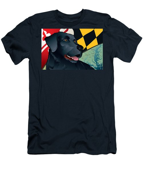 Maryland Black Lab Men's T-Shirt (Athletic Fit)