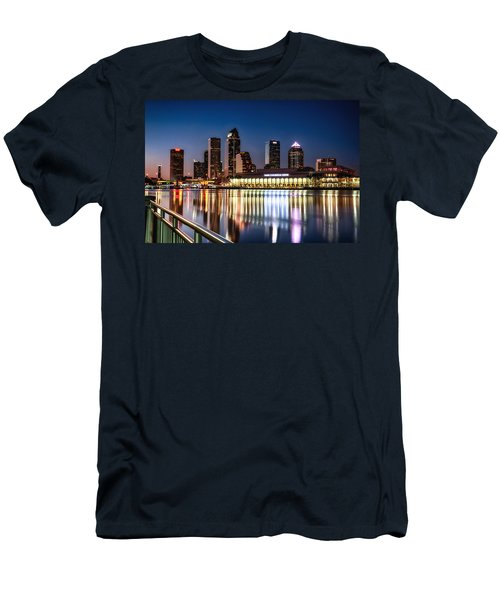 City Of Tampa Skyline  Men's T-Shirt (Athletic Fit)