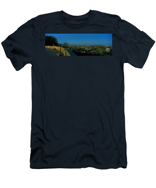 City Viewed From An Observation Point Men's T-Shirt (Athletic Fit)