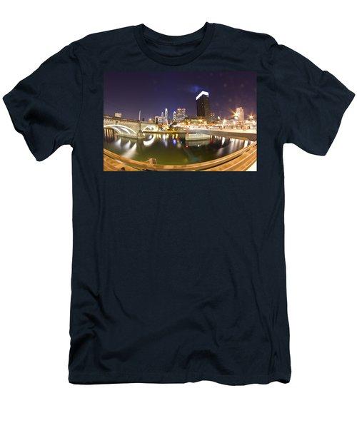 City's Reflection Men's T-Shirt (Athletic Fit)