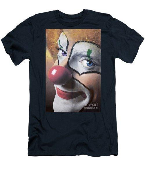 Clown Mural Men's T-Shirt (Slim Fit) by Bob Christopher