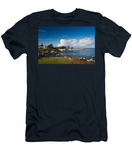 Coastline, Monterey Bay, Monterey Men's T-Shirt (Athletic Fit)