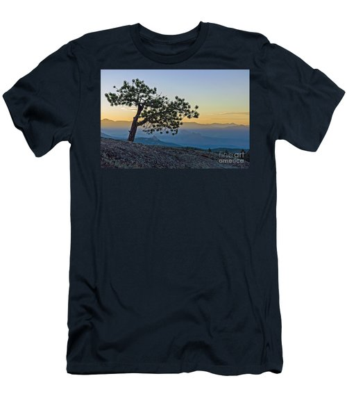 Colorado Sunset Men's T-Shirt (Athletic Fit)