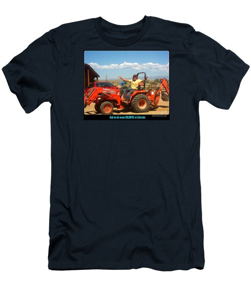 Colorful In Colorado Men's T-Shirt (Slim Fit) by Kelly Awad