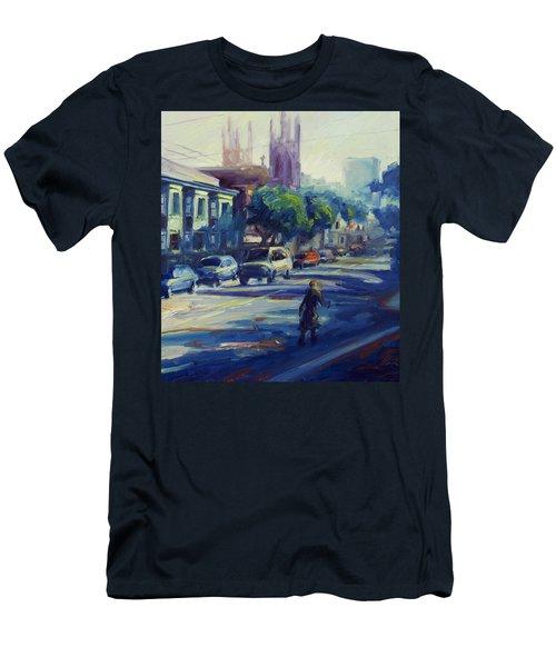 Columbus Street Men's T-Shirt (Athletic Fit)