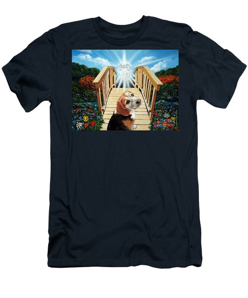 Come Walk With Me Over The Rainbow Bridge Men's T-Shirt (Athletic Fit)