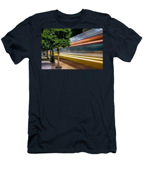 Commuter Train Men's T-Shirt (Athletic Fit)