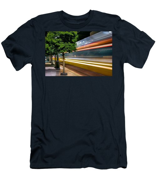 Dallas Commuter Train 052214 Men's T-Shirt (Athletic Fit)