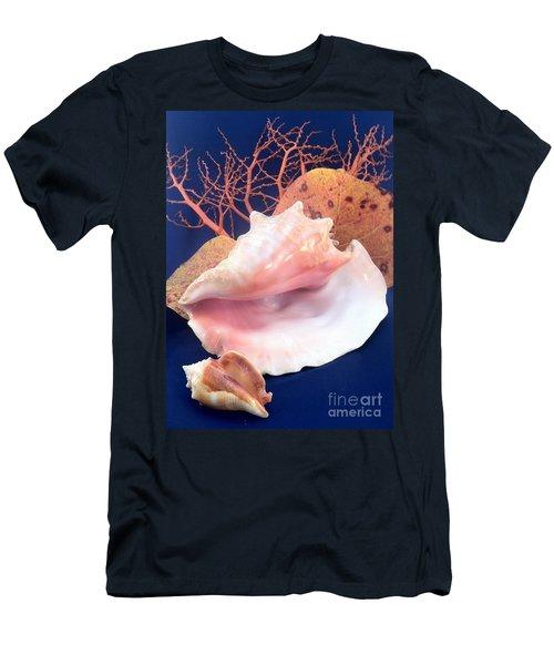 Conch Still Life Men's T-Shirt (Athletic Fit)
