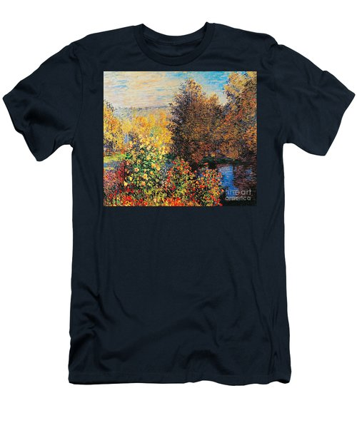 Corner Of Garden In Montgeron Men's T-Shirt (Athletic Fit)